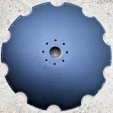 Диск бороны АГ, УДА, ПД 660 мм 8 отверстий ромашка бор.