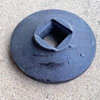 Фланец большой (упор концевой) дисковой бороны Bomet