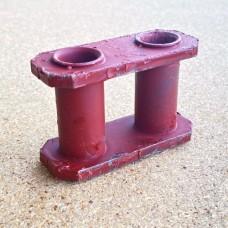 Звено (бинокль) транспортера двухрядной картофелекопалки Z-609 8255-604-100-085