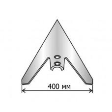 Лапа культиватора ПРНВ борированная сталь