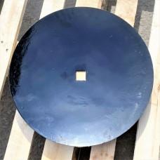 Диск лущильника ЛДГ 460*4, центральный внутр. кв. 31*31мм, гладкий ВА-01.431