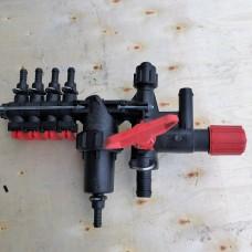Распределитель (регулятор) давления 4 секции Agroplast ROZ4 |999997|