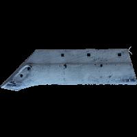 Лемех плуга 7кг AW 7.2 R-035 под долото