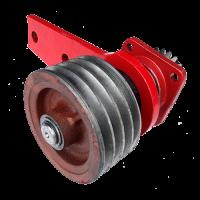 Шкив малый роторной косилки в сборе WIRAX оригинал 8245-036-010-248