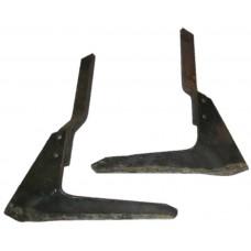 Лапа-бритва КРН в сборе правая и левая (комплект)