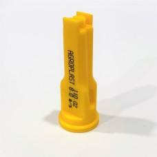 Распылитель опрыскивателя инжекторный  желтый 02 Agroplast AP021108MS