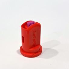 Распылитель  инжекторный двухструйный красный 04 Agroplast 6MS04P2