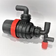 Фильтр опрыскивателя всасывающий универсальный без запорного клапана (колено 32 мм) Agroplast AP17FU_32 |224217|