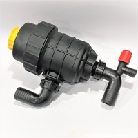 Фильтр опрыскивателя большой с клапаном (колено 40 мм) Agroplast AP14FSD_40 |224255|