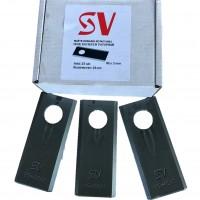 Нож роторной косилки SV